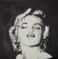 Marilyn Monroe by TensionHead26