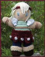 Astrid Doll--Front View by knitty1121