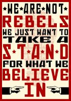 We Are Not Rebels - Revamped by picklenation