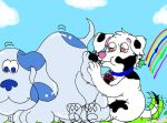 Meer and Blue's Clues by PuffyDearlySmith