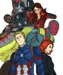 New Avengers by pencilHeadno7