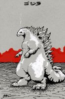 gojira by nicktheartisticfreak