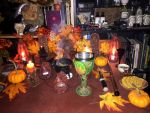 Celtic Wicca - Samhain 2015 Altar by Morsoth