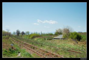 Polish Countryside - Rail II by adamsik