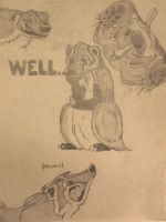 More badgers by godzillabadger