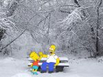 My Simpsons Wallpaper 25 by TimpanogosArt