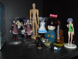 My figurines by WitchOfStories