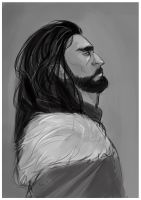 Thorin - sketch by fifoux