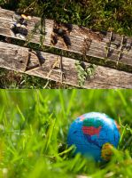 Earth Day Diptych by DemonOfThorns