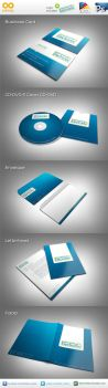 Electronix Corporate Identity by flash-infinity