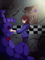 I need your face (Bonnie FNAF) by kratos93