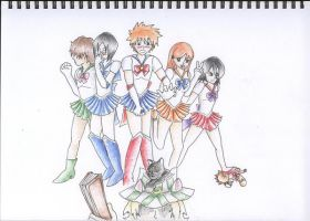 Sailor Bleach by angelic-swordien