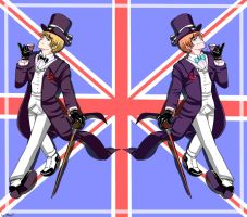 APH: British Gentleman by mino-the-cat