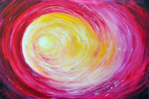 INTO THE LIGHT  II  - VORTEX by ARTBYTERESA