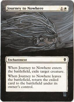 Magic Card Alteration: Journey to Nowhere 9-10 by Ondal-the-Fool