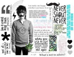 christofer drew collage by PiercedxAlesanaxGirl