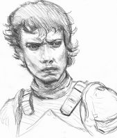 Theon Greyjoy sketch by Vimes-DA