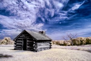 Valley Forge Cabin 3 by swiftmoonphoto