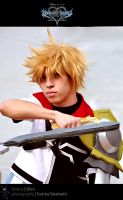 The little Keyblade Warrior by daysukesplace