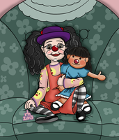 Fanart - Big Comfy Couch - Loonette and Molly by ronaldhennessy