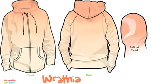 Wrathia hoodie by disconsolance