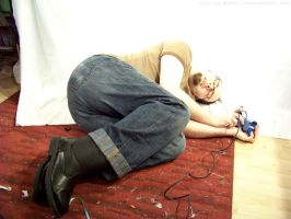 PS2 Guy Laying Down : 01 by taeliac-stock
