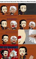 Hawke and Fenris Reconcile Their Differences by DelicateRosebud