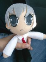 Vampire Knight - Zero Plushie by CuteGio