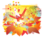 A Latias Among the Leaves by DoNotDelete