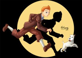 Tintin by ClowKusanagi