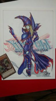 mago oscuro yugioh by richarkh