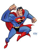Superman by ScottCohn