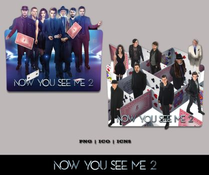 Now You See Me 2 (2016) Folder Icon Pack by Bl4CKSL4YER