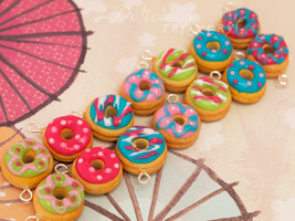 Decorative Donuts by DeliciousTrickery