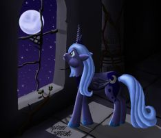 Cry For Me Luna by ZevironMoniroth