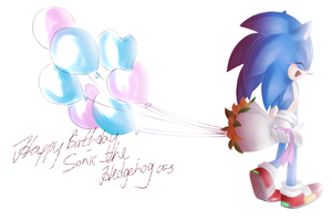 Happy B-Day Sonic by heihei188