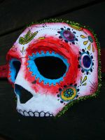 day of the dead mask by eesss