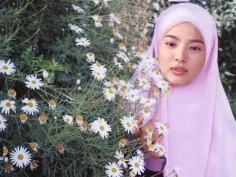 song hye gyo in hijab.. by starmat