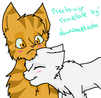 Lionblaze X Icecloud by Nightshine156