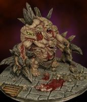 Diablo 3 Unburied miniature by DarkLostSoul86