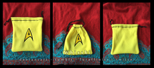 Star Trek Command Pouch by Whisski