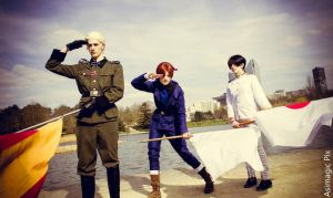 Hetalia Axis Powers 'Draw the Earth !' by Hirako-f-w