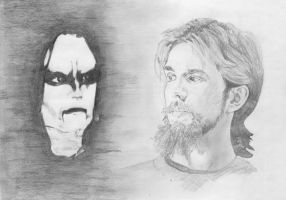 The Day Burzum Killed Mayhem by Eligijus