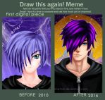 Improvement: First Tablet Drawing by reikohattori