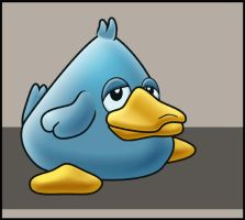 Duck Game character design - Animated by floopate