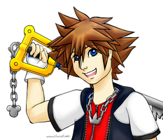 KH-Yet another Sora by AnnaAelfara