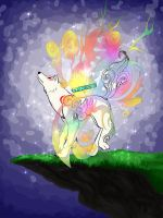 Okami - Shine by WhiteRaven4