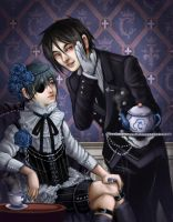 Black Butler by Krikin
