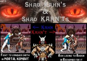 Shao Kahns and Shao KAHN'Ts 05 by LordKrogoth
