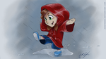 Playing in the Rain by Jazzy-Book